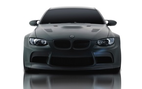 Picture Reflection, BMW, Boomer, The hood, Lights, Matt, The front, GTR S3