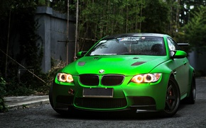 Picture green, bmw, sport, turbo, tuning, power, germany