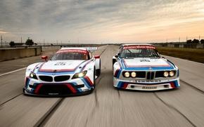 Picture BMW, Track, 1975, 2015, Sebring, BMW Z4 GTLM, BMW 3.0 CSL