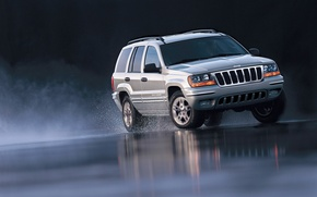 Picture car, machine, auto, 2002, Special Edition, Jeep, Grand Cherokee