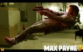 Picture jump, guns, rockstar, Max Payne 3