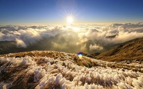 Picture landscape, mountain, Taiwan, TarokoNationalPark