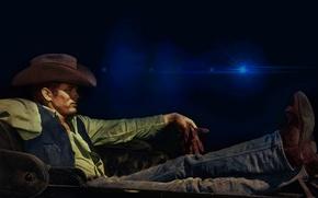 Picture background, hat, actor, James Dean