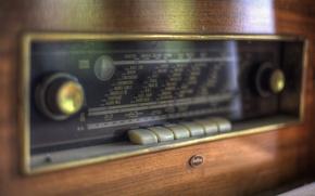 Picture macro, background, Radio