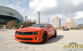 Picture Chevrolet, Camaro, Wheels, Savini
