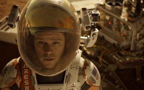 Picture The film, Matt Damon, Matt Damon, Martian, The Martian, All alone