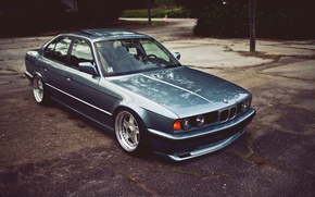 Picture tuning, bmw, BMW, drives, classic, tuning, stance, e34, oldscool