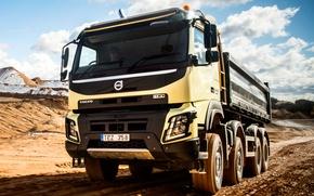 Picture transport, Volvo, Volvo, cargo, FMX, 8x4
