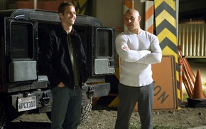 Picture VIN Diesel, Paul Walker, Vin Diesel, The fast and the furious 4, Dominic Toretto, Fast …