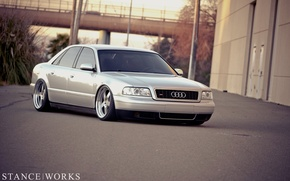 Picture Audi, Audi, tuning, tuning, low, stance works