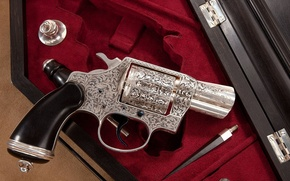 Picture patterns, revolver, engraving, art, usa, colt