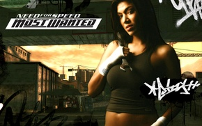 Picture Girl, Girl, NFS, Izzy, Game, Need For Speed, Most Wanted, Isabel Diaz, Issy