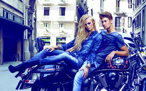 Picture style, jeans, advertising, model, fashion, The Denim News