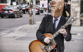Picture Paper, Musician, Bag