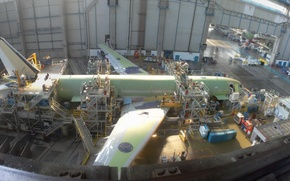 Picture Construction, A330, Airbus, Plane
