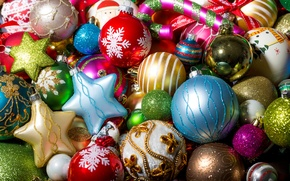 Picture winter, balls, toys, New Year, Christmas, the scenery, Christmas, holidays, New Year, Christmas, Christmas