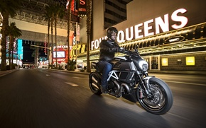 Picture Ducati, Carbon, muscle, power, Nevada, cruiser, Diavel, Las-Vegas, musclebike