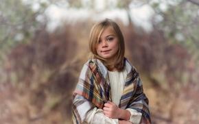 Picture portrait, girl, Lorna Oxenham