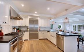 Picture design, photo, interior, kitchen
