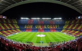 Picture Camp Nou, FC Barcelona, Champions League 2012-13, FC Barcelona - AC Milan