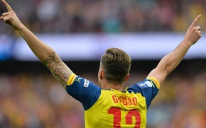 Picture background, victory, Arsenal, Arsenal, Football Club, the gunners, The Gunners, football club, Olivier Giroud, Olivier ...
