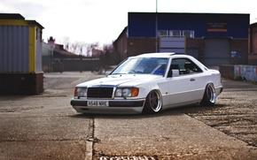Picture Mercedes-Benz, Mercedes, Coupe, Stance, E-Class, C124
