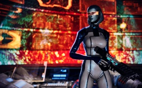 Picture Robot, Mass Effect, EDI, Susie