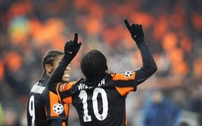 Picture Sport, Football, Luiz Adriano, Donetsk, Miner, Willian
