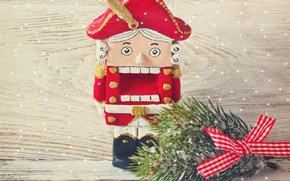 Picture winter, snow, toys, New Year, Christmas, Christmas, winter, snow, decoration, Merry