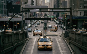 Picture USA, New York, Taxi