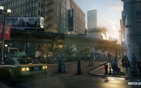 Picture street, Chicago, Ubisoft Montreal, Watchdogs, watch dogs