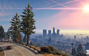 Picture the city, Rockstar, Grand Theft Auto V, Los Santos, gta 5