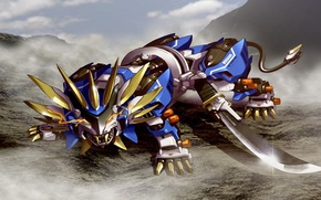 Picture Murasame, Liger, robot, zoids