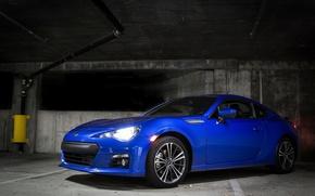 Picture Subaru, Blue, BRZ, Underground, Limited