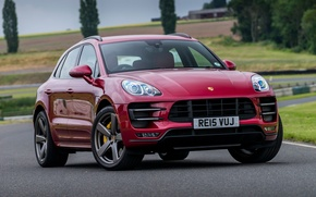 Picture Porsche, Porsche, Turbo, UK-spec, 2014, Macan, makan