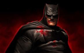 Picture Batman, art, Bruce Wayne, Dark Knight, The Dark Knight Returns