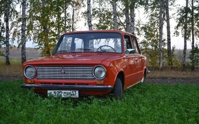 Picture red, Lada, VAZ, 2101, ваз2101