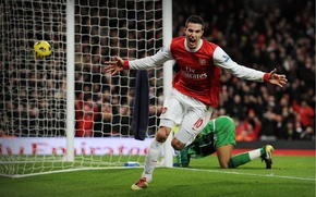 Picture football, van Persie, Arsenal London
