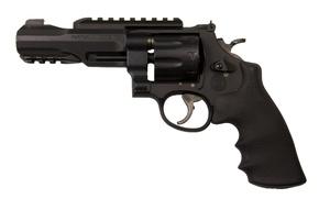 Picture gun, logo, weapon, symbol, revolver, Smith & Wesson, S&W, Smith & Wesson 327, 327, coat …