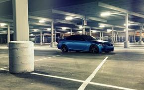 Picture blue, BMW, BMW, Matt, E92, Matte, The 3 series, 3 Series, Blue Metallic