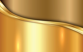 Picture metal, gold, vector, metal, plate, golden, background, steel, gradient
