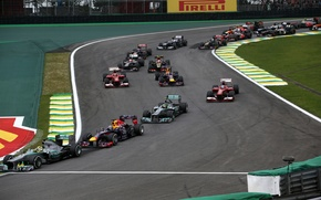Picture race, formula 1, Motorsport