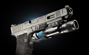 Picture weapons, Austria, flashlight, Glock 34, self-loading pistol