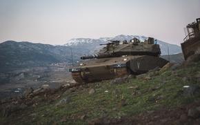 "Picture tank, combat, main, Merkava, Israel, Mk.3, ""Merkava"""