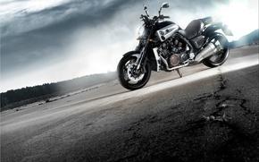 Wallpaper motorcycle, Yamaxa, Yamaha V-max