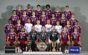 Picture Bundesliga, FC Bayern Munich, FC Bayern, 2014-15