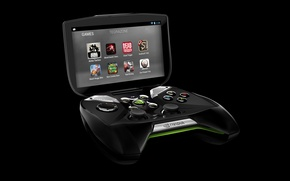 Picture Titanfall, game, nvidia shield 2, tegra k1, high technology, LED, console, technology, portable video game, ...