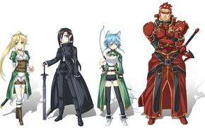 Picture sword, game, anime, fairy, katana, amour, man, ken, MMORPG, asian, bow, manga, pretty girl, japanese, …