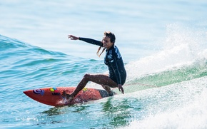 Picture wave, Board, Women's Surfing