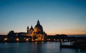 Picture city, lights, cathedral, Italy, sunset, photographer, water, evening, houses, Venice, buildings, architecture, Italia, Venice, cityscape, …